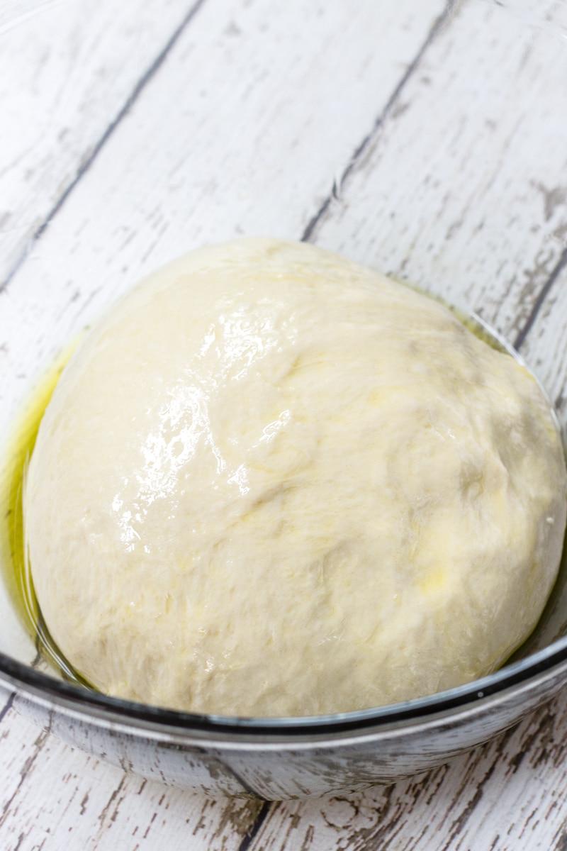 yeast dough before rising