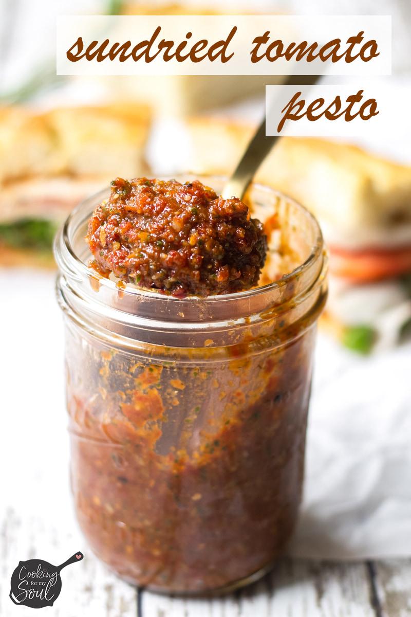 sundried tomato pesto recipe