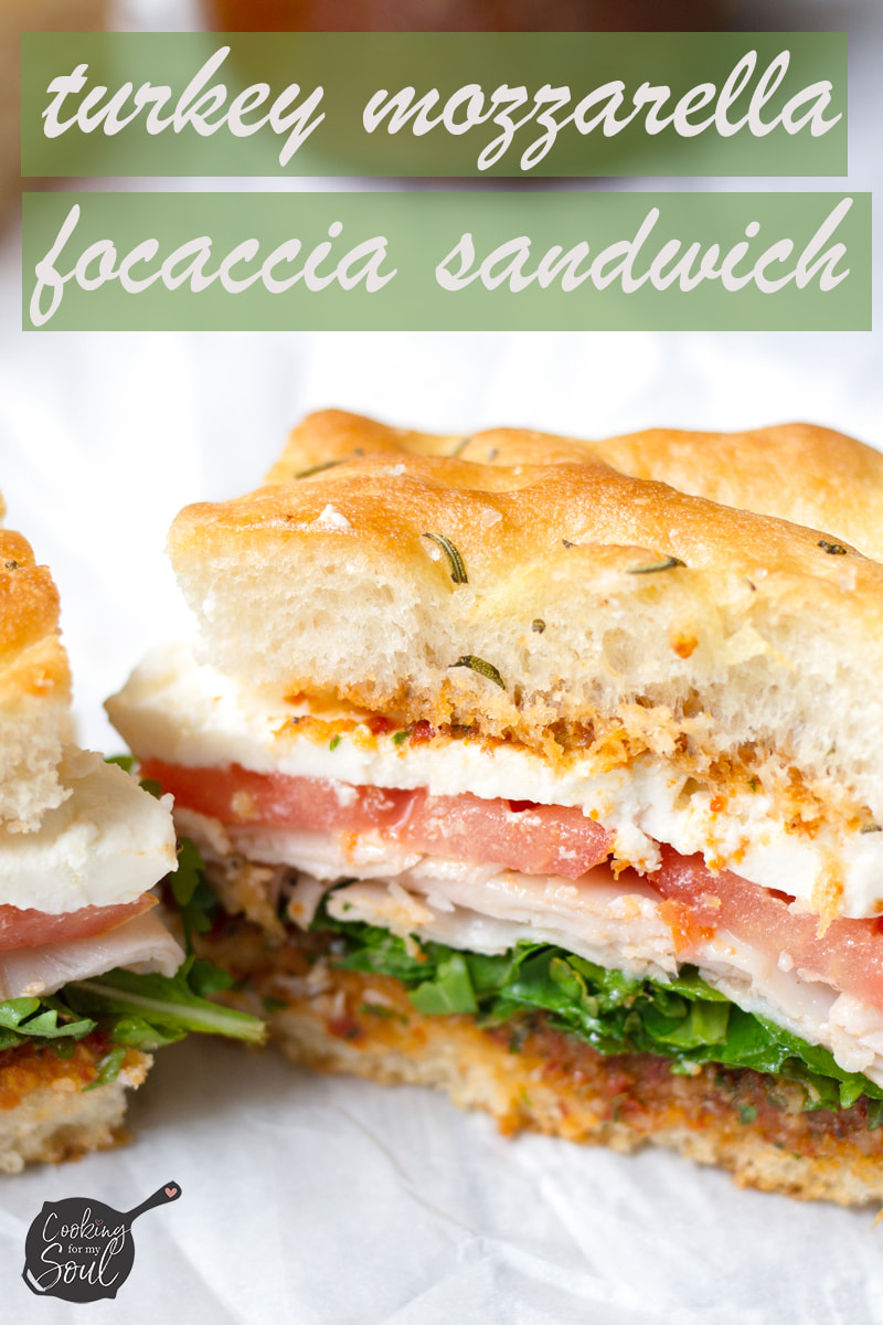 turkey mozzarella sandwich
