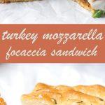 turkey mozzarella sandwich