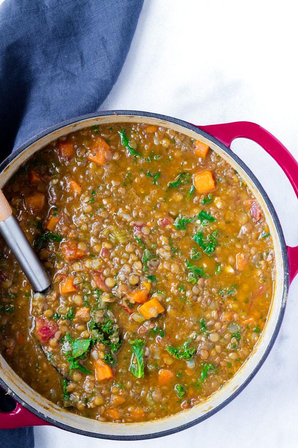 lentil soup recipe with carrots