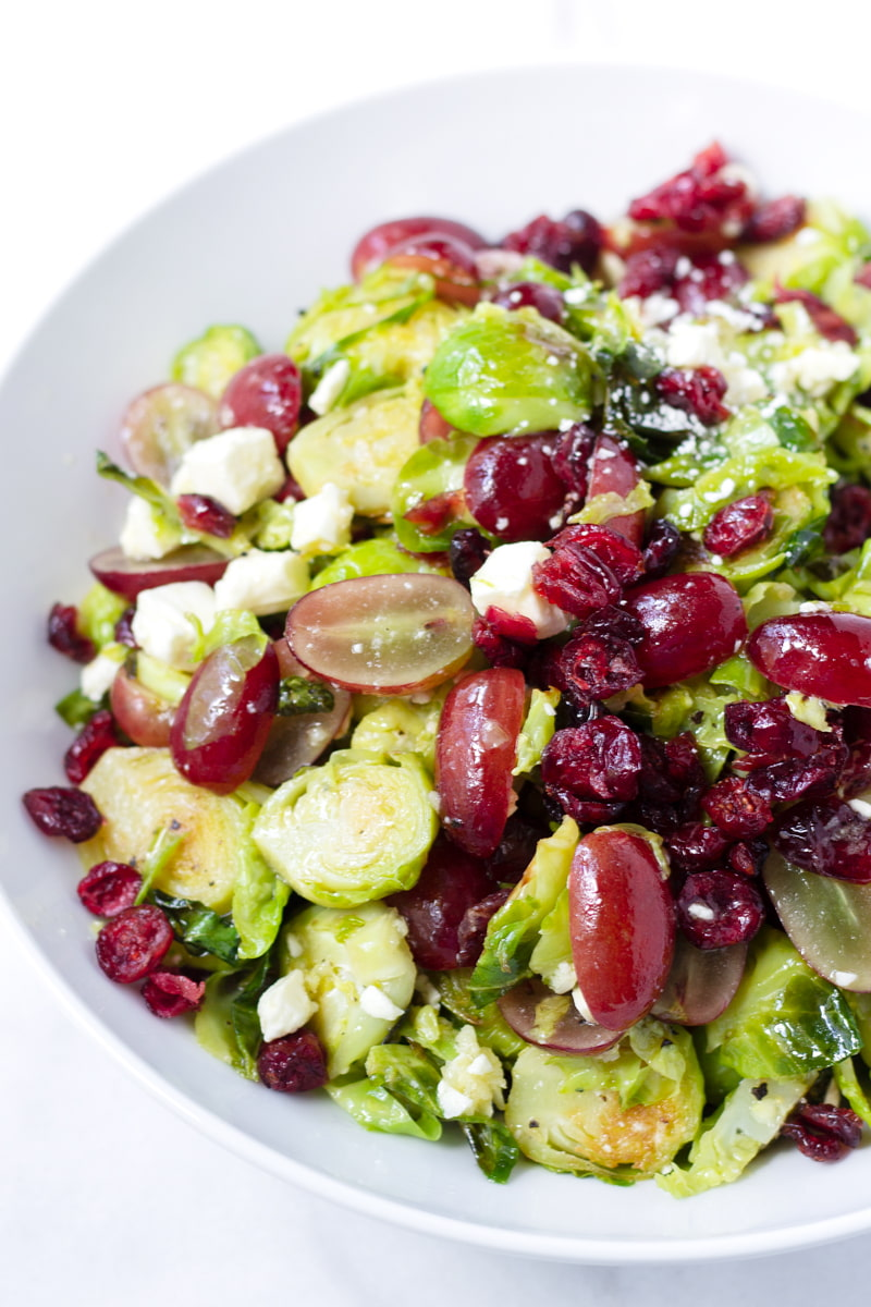 easy brussels sprouts salad