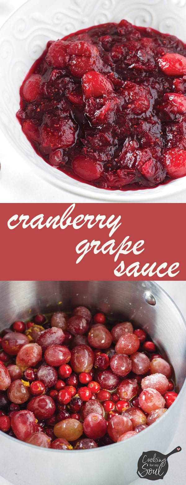 cranberry grape sauce