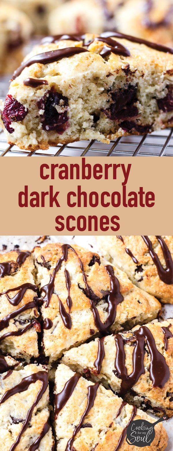 easy cranberry scones