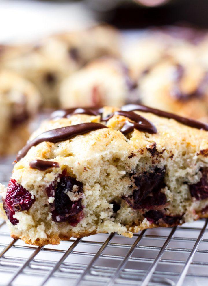 easy cranberry scones