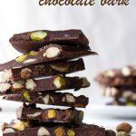 Easy Almond Pistachio Chocolate Bark