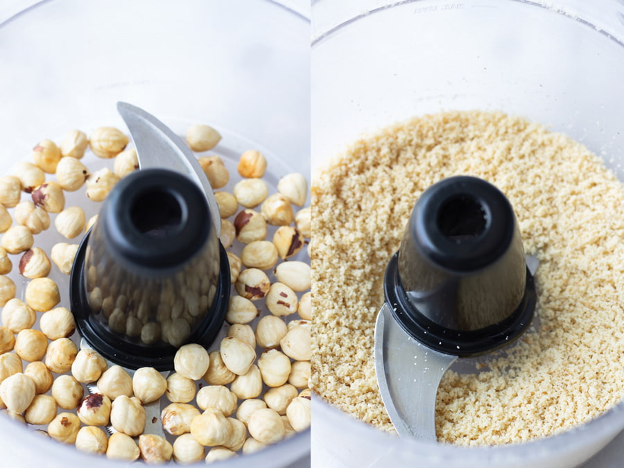 How to Ground Hazelnut in Food Processor