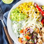 Chicken Fajita Rice Bowl Recipe