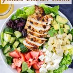 Mediterranean Chicken Salad