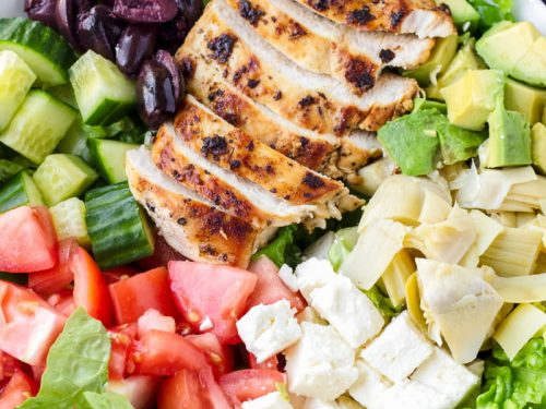 Mediterranean Grilled Chicken Salad Cooking For My Soul