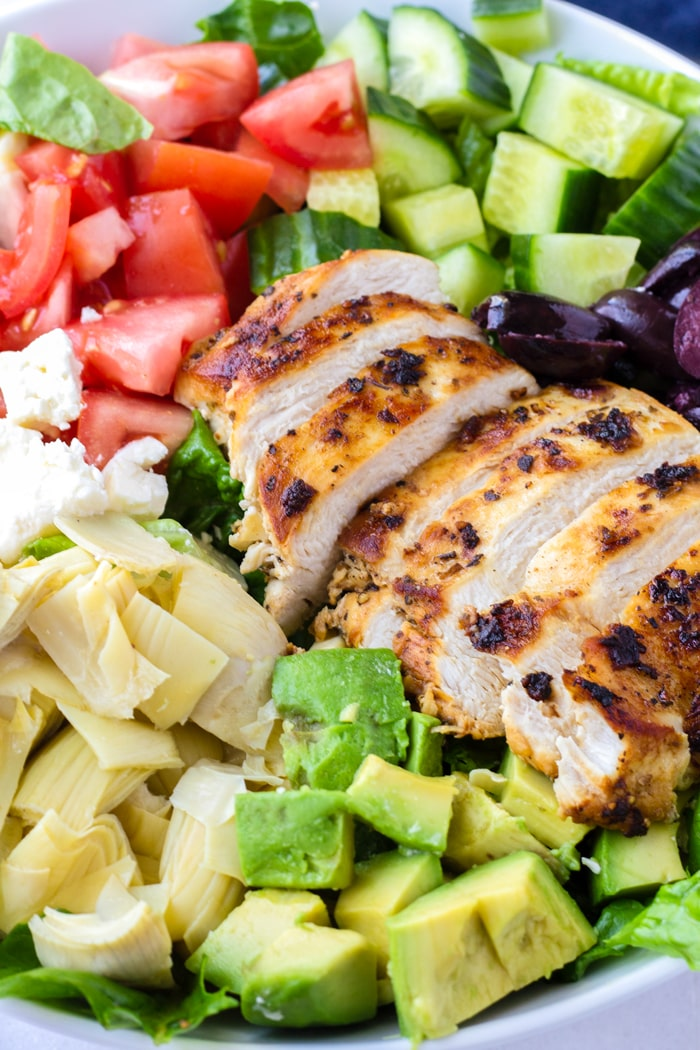 Grilled Chicken Mediterranean Salad