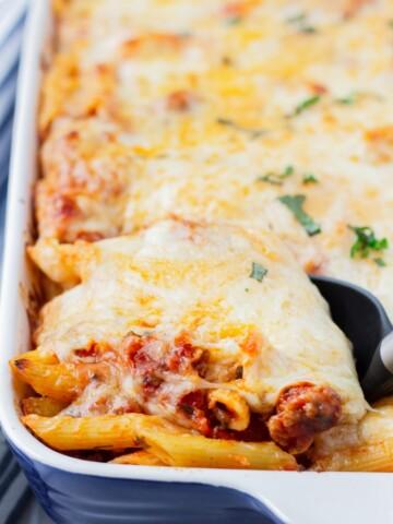 Easy Italian Pasta Bake