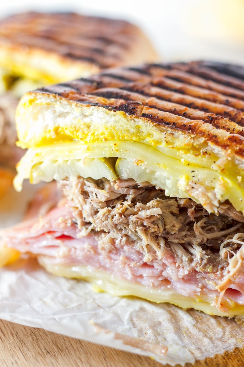 Cuban Sandwich with Pulled Pork