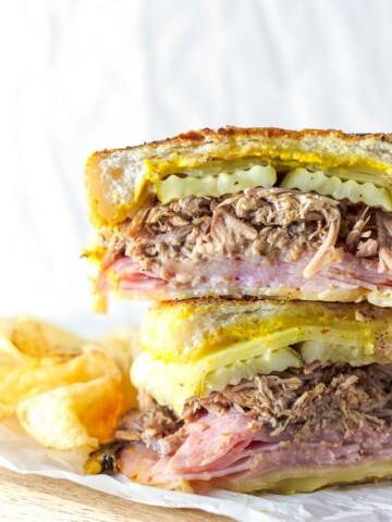 Slow Cooker Cuban Sandwich