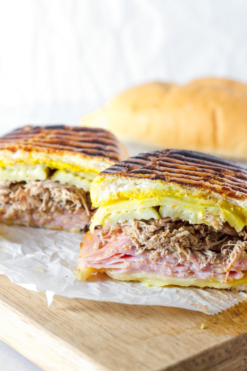 Cuban Sandwich with Slow Cooked Pork