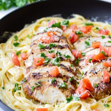 Cajun Chicken Alfredo Pasta