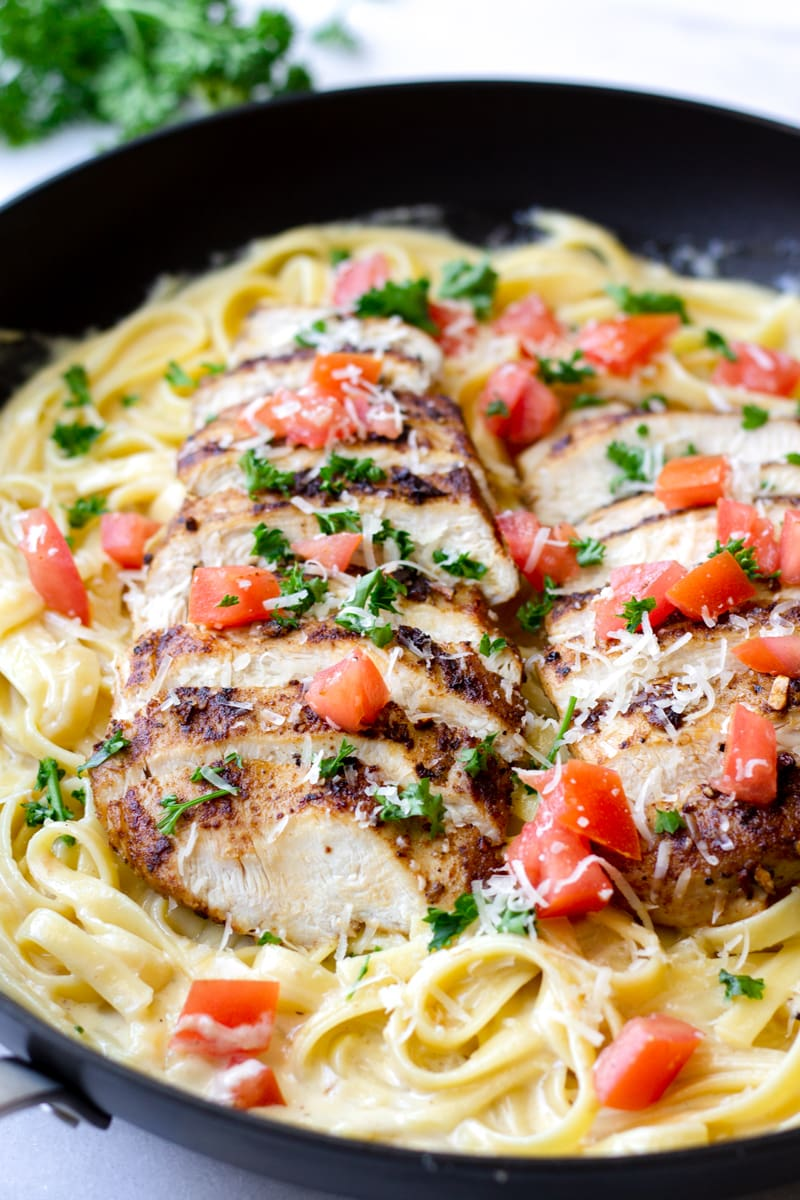 Cajun Chicken Pasta with Tomatoes