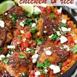 One Pot Mexican Chicken and Rice with Rotel