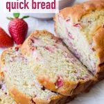Fresh Strawberry Loaf Bread