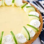 Best Key Lime Tart with Whipped Cream