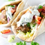 Greek Meatball Gyros