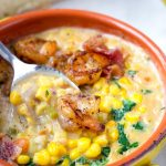 Seafood Chowder with Corn