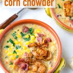 Corn Chowder with Shrimp