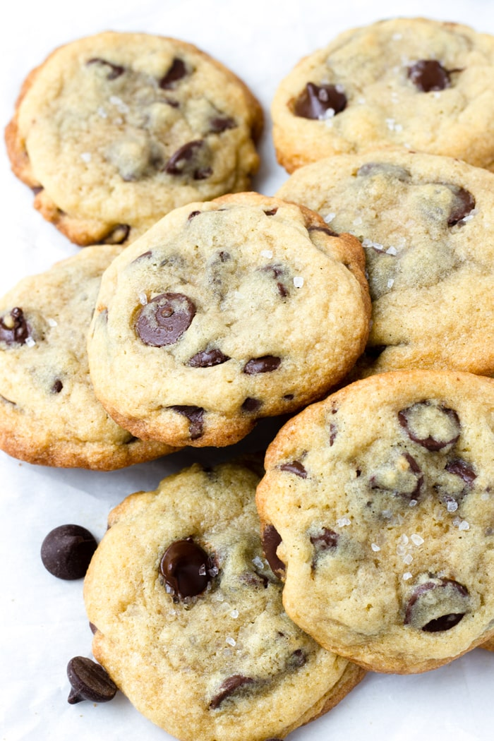 Sea Salt Chocolate Chip Cookies Soft And Chewy Cooking For My Soul