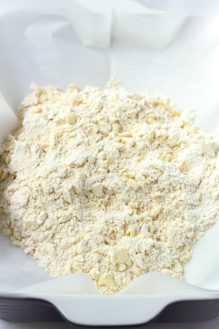 Butter Crust for Lemon Bars