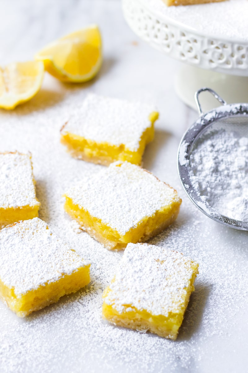 Easy Lemon Squares Recipe with Shortbread Crust