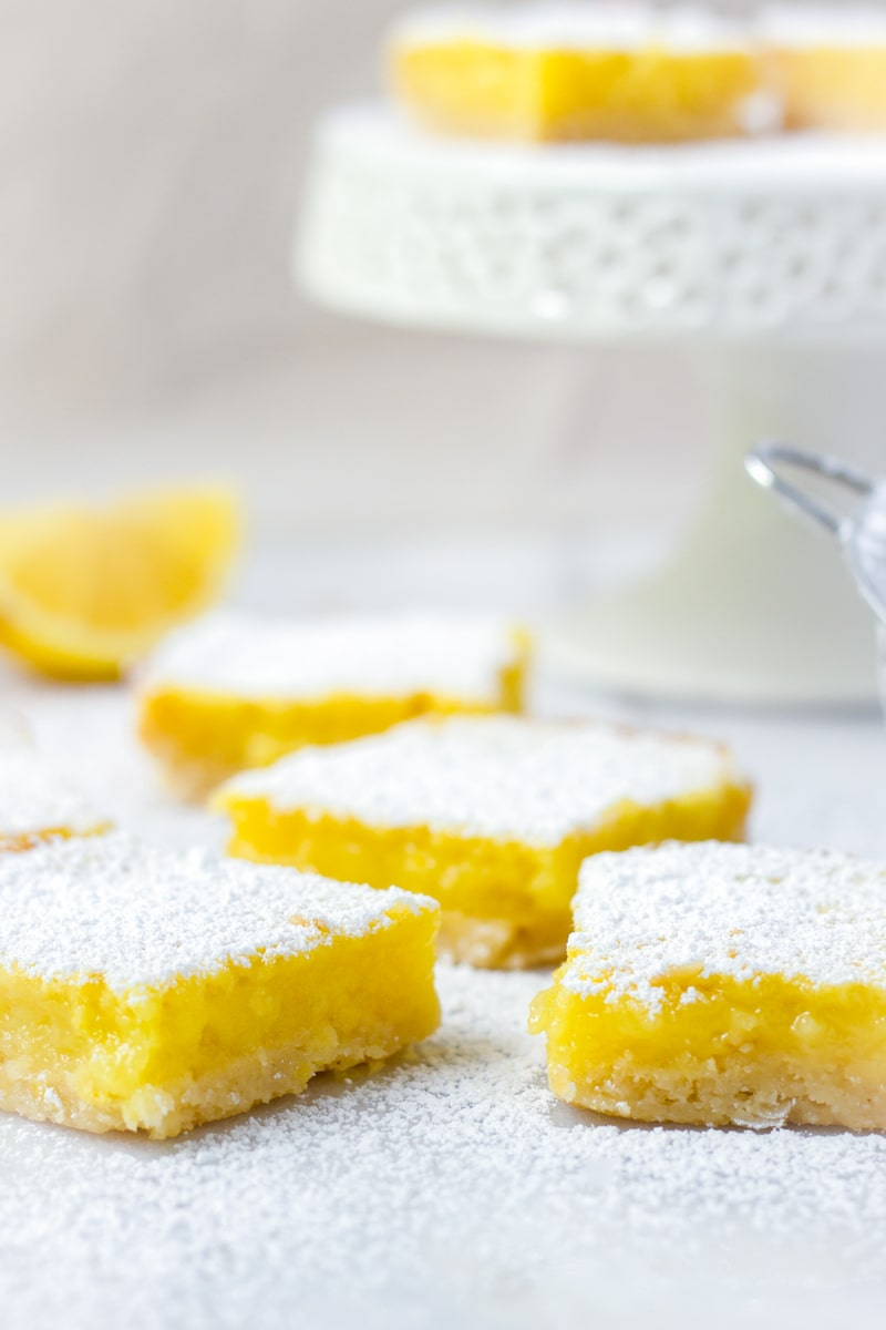 Easy Lemon Bars Recipe with Shortbread Crust