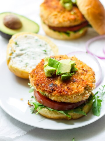 Easy Fresh Salmon Burger Patties