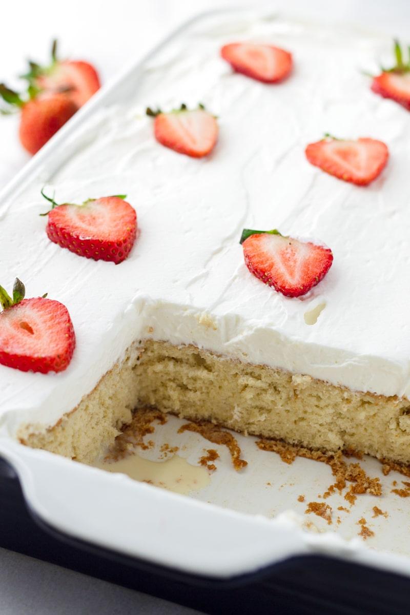 Tres Leches Sponge Cake