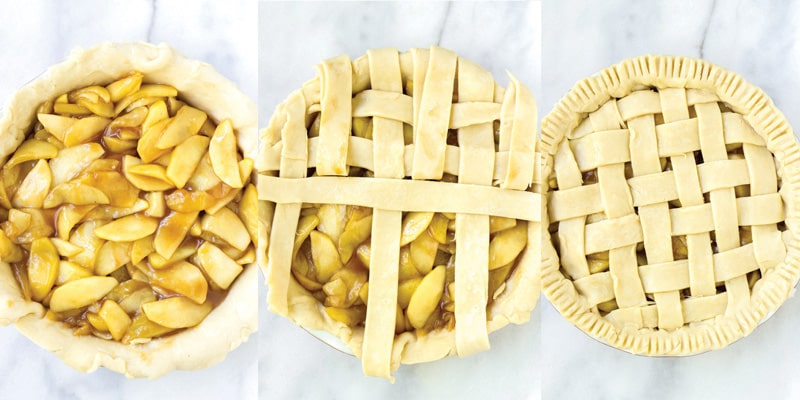 How to Assemble an Apple Pie
