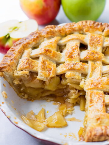 Homemade Apple Pie Precooked Apple Filling