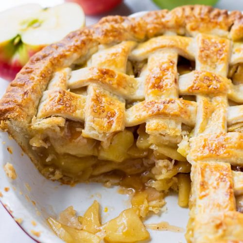 Classic Apple Pie With Precooked Apple Filling Cooking For My Soul