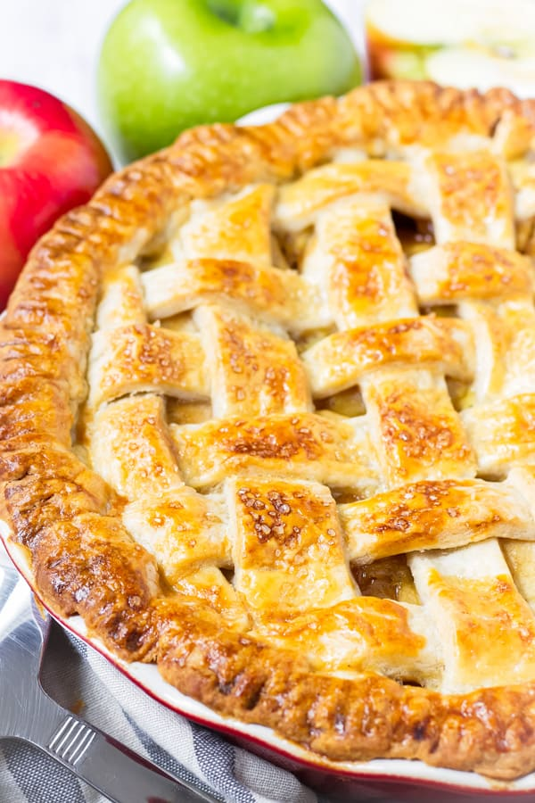 How to Lattice a Pie Crust for Apple Pie