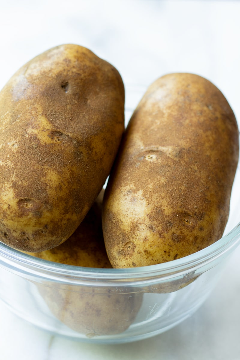 Russet Potatoes for Fluffy Mashed Potatoes