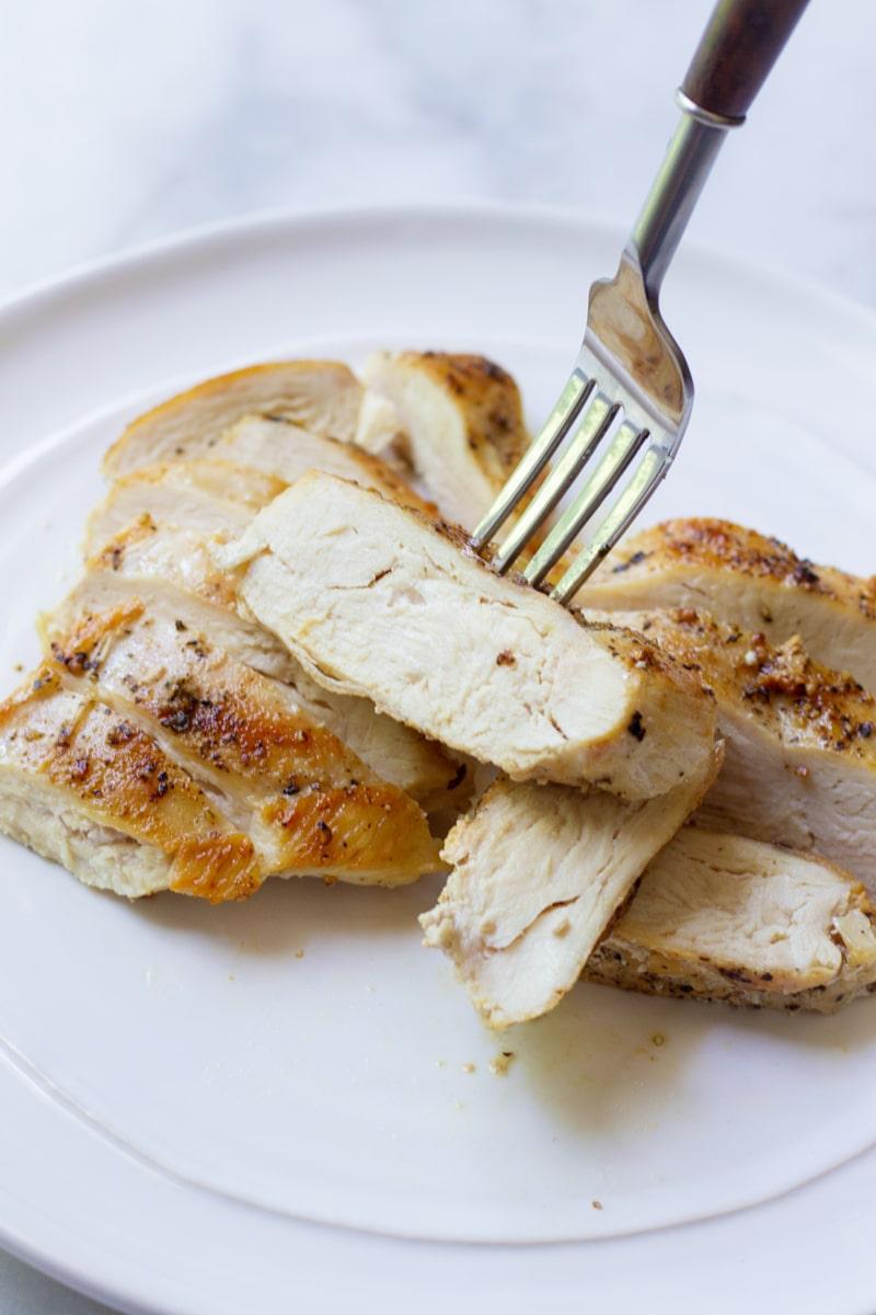 Sliced Chicken Seasoned Chicken Breast
