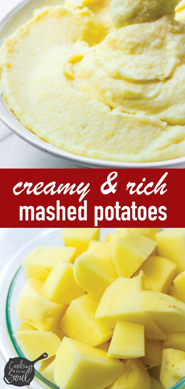 Mashed Potatoes Creamy and Rich