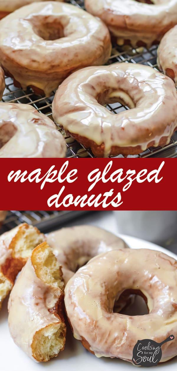 Homemade Maple Donuts Glaze