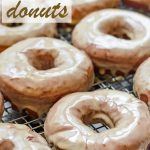 Maple Donuts Homemade Yeast