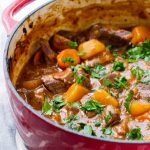 Hearty Beef Stew with Carrots and Potatoes