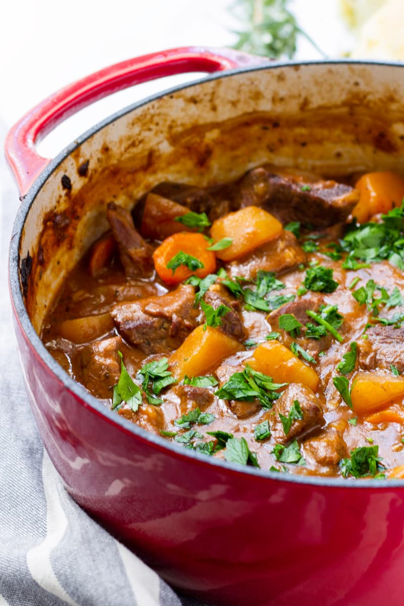 Hearty Dutch Oven Beef Stew Cooking For My Soul