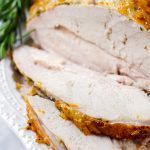 Honey Glazed Turkey Breast Brined
