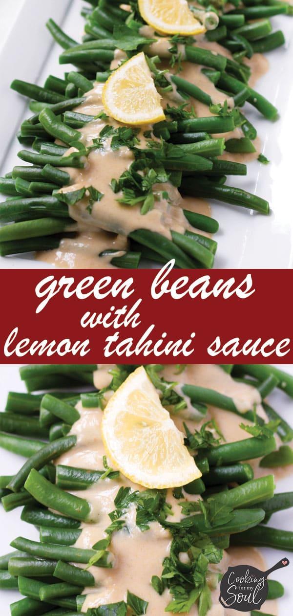 Green Beans with Lemon Dressing