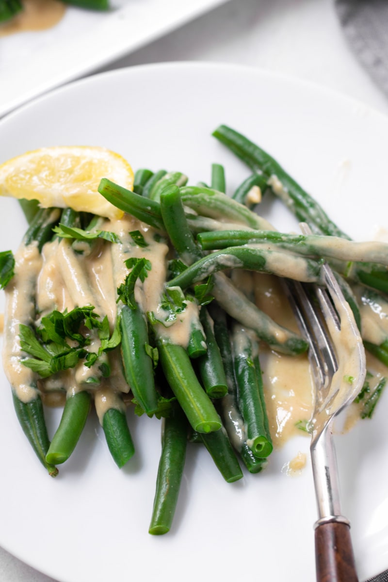 Green Beans Side with Lemon