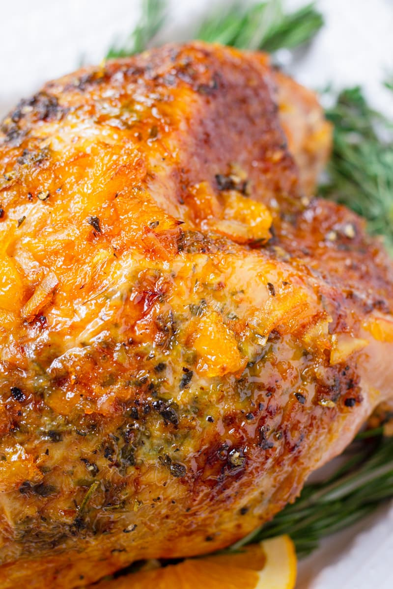 Orange Marmalade Turkey Breast