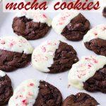 Peppermint Mocha Cookies Christmas