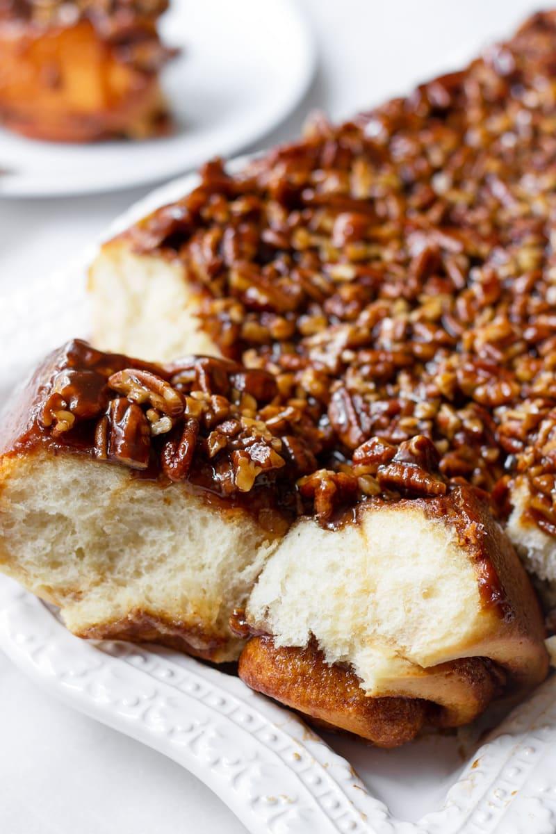 Caramel Pecan Sticky Buns Easy